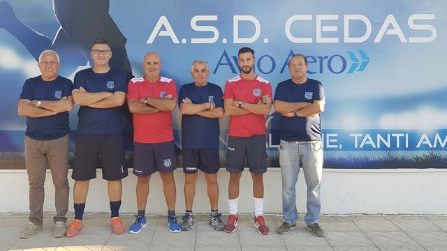 Staff della prima squadra e Juniores della Cedas Avio Brindisi