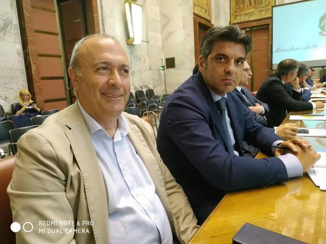 Vito Rubino e Pietro De Padova