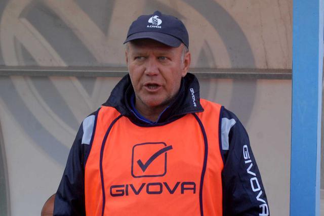 Dino Bitetto, allenatore della Cavese - Foto Giorgia Cannella