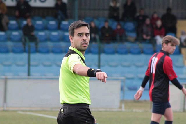 Maurizio Barbiero della sezione di Campobasso, arbitro di Taranto-Gragnano