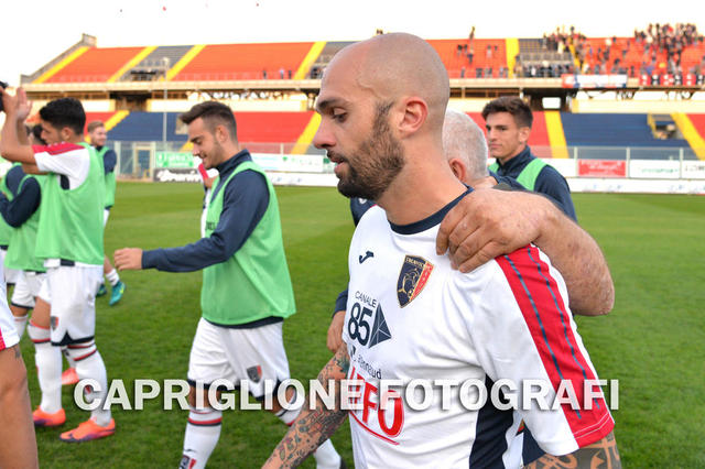 Manuel Pera, suo il gol vittoria nellultima contesa tra Taranto e Nardò allo Iacovone