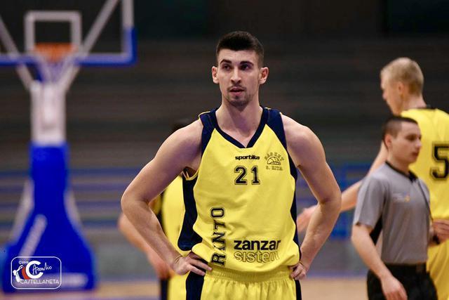 Eric Dimitrov, top scorer dell'ultimo turno di campionato con 39 punti