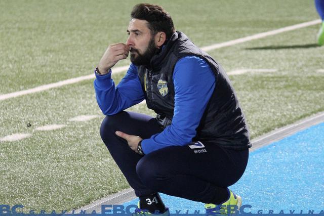 Valeriano Loseto, allenatore del Gravina - Foto FBC Gravina