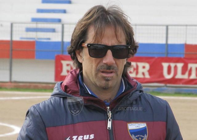 Massimo Marinelli, allenatore del Grottaglie