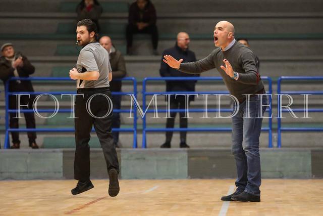 Giulio Caricasole, coach del Cus Jonico Taranto