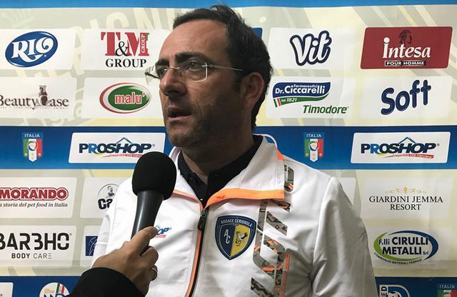 Teore Grimaldi, nuovo allenatore della Turris