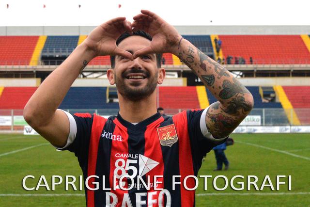 Stefano D'Agostino, centrocampista del Taranto