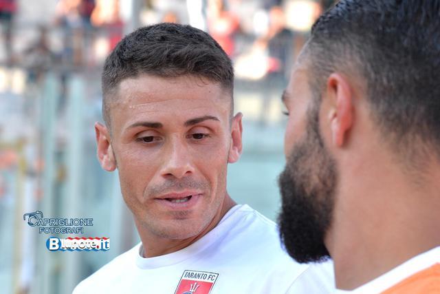 Max Marsili, esperto centrocampista del Taranto