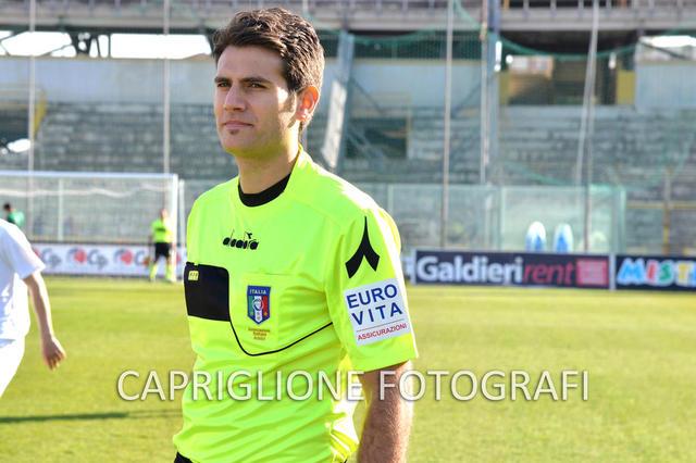 Andrea Ancora della sezione di Roma 1, arbitro di Fasano-Taranto