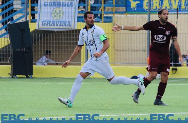 Antonio Croce, attaccante classe 1986 - Foto Fbc Gravina
