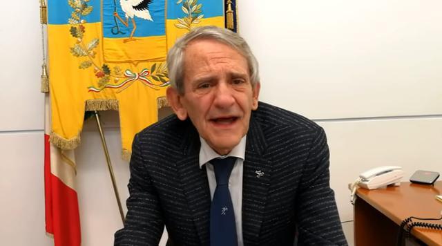 Franco Metta, sindaco di Cerignola - Foto Foggia Today