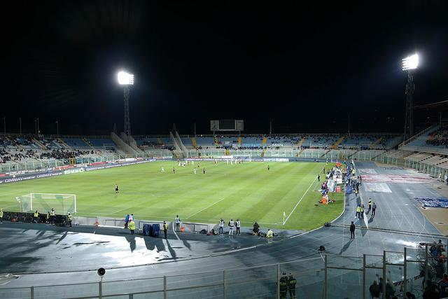 Lo stadio 'Adriatico-Cornacchia' di Pescara