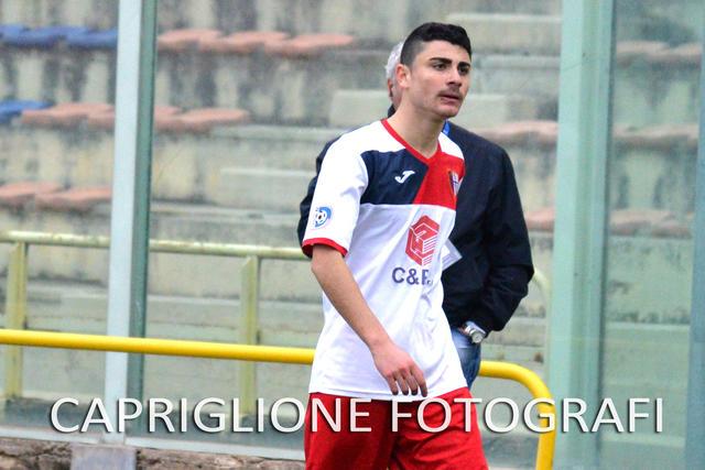Felice Cimino, centrocampista del Francavilla
