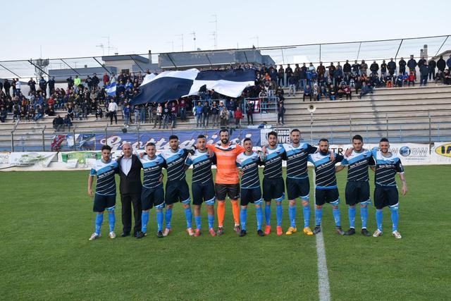 La formazione del Grottaglie che ha vinto la Coppa Puglia al 'Vito Curlo' di Fasano