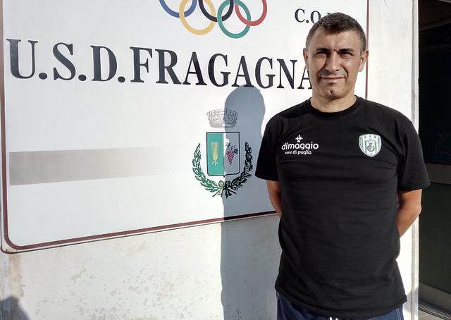 Carmine Giuseppe Molino, allenatore del Fragagnano