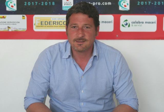 Bruno Trocini, allenatore del Rende - Foto Francesco Donato
