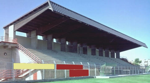Lo stadio Italia di Massafra