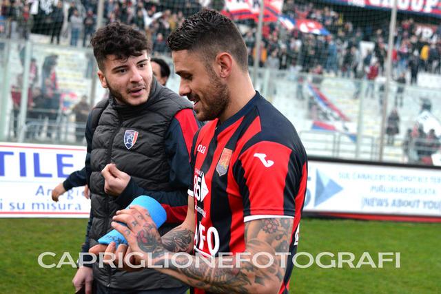 Massimiliano Marsili, centrocampista del Taranto