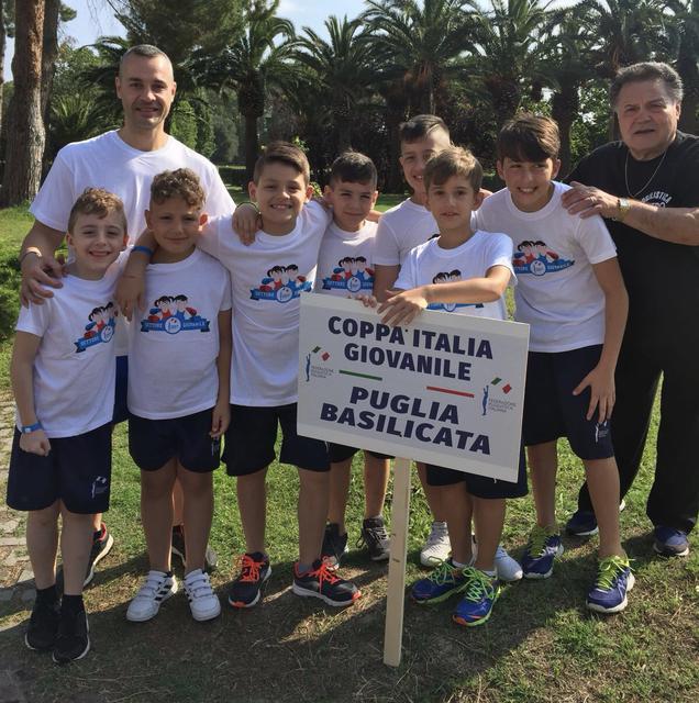 La formazione della Puglia giovanile