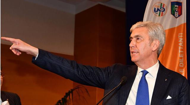 Cosimo Sibilia, presidente della Lnd