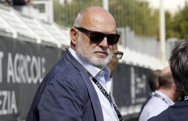 Antonio Gozzi, presidente dell'Entella
