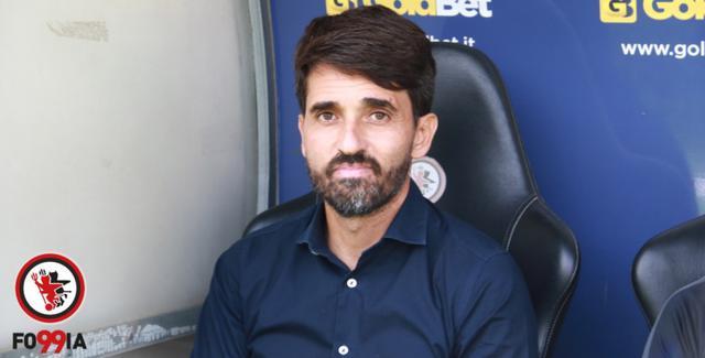 Gianluca Grassadonia, allenatore del Foggia
