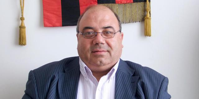 Bruno Iovino, rappresentante di una cordata di imprenditori interessata all'acquisto della Nocerina