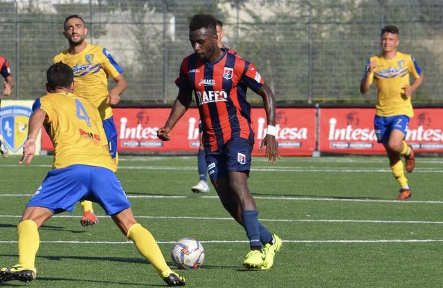 Sfortunato. Adama Diakite - Foto Nicola Carpignano/Taranto FC