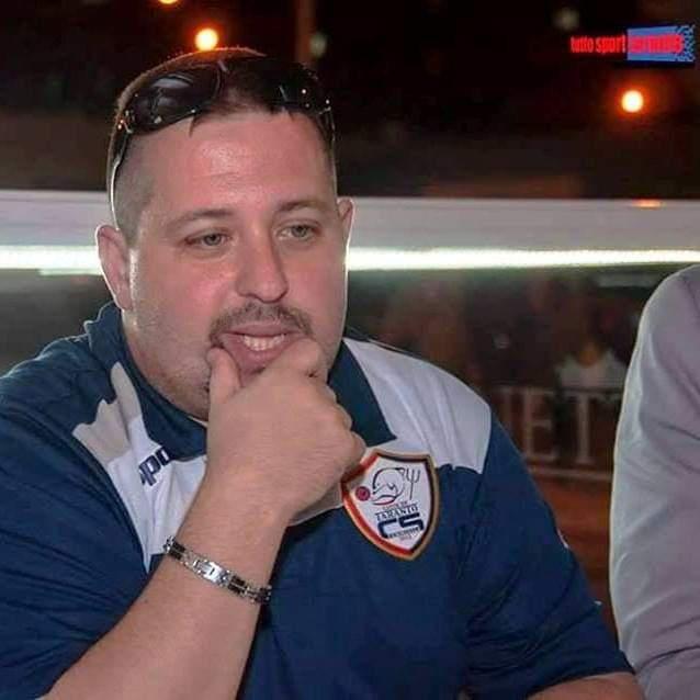 Vito Liotino, allenatore del Città di Taranto