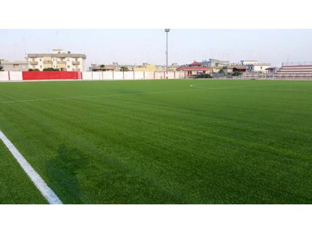 Una veduta dello stadio De Bellis di Castellaneta