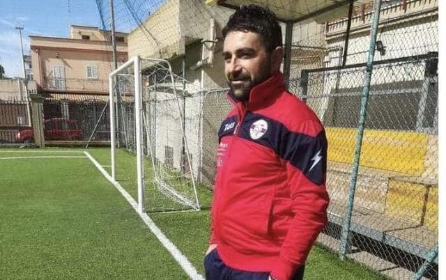 Stefano Latartara, allenatore dell'Atletic Club Taranto