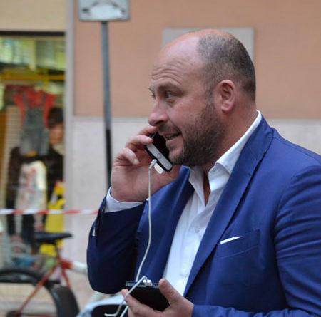 Renato Perrini, consigliere regionale - Foto blufree.it
