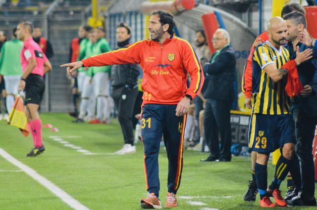 Fabio Caserta, allenatore della Juve Stabia - Foto Roberto Savelli/Blunote