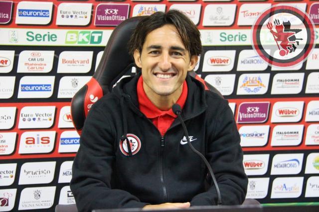 Cristian Agnelli, capitano del Foggia - Foto foggiacalcio1920.it