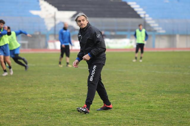 Rodolfo Vanoli, 55 anni, è il nuovo allenatore del Bisceglie (Foto Emmanuele Mastrodonato)