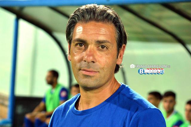 Giuseppe Laterza, allenatore del Fasano