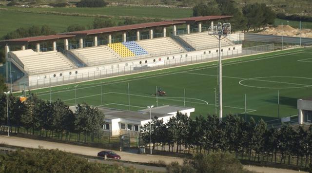 Lo stadio comunale di Mottola
