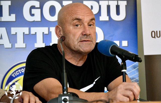 Giancarlo Favarin, allenatore della Fidelis Andria