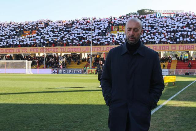 Cristian Bucchi, allenatore del Crotone