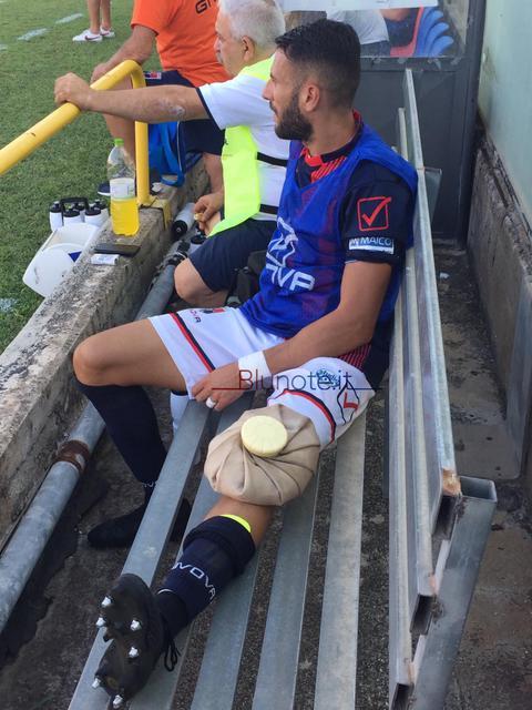 Jimmy Allegrini sosterrà esami strumentali al ginocchio nella giornata di mercoledì