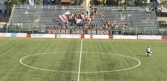 Lo stadio Liguori di Torre del Greco