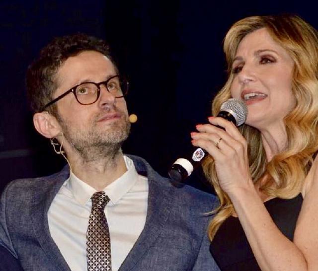 Lorella Cuccarini, ambasciatrice deccezione, e Fabio Salvatore, ideatore del Magna Grecia Awards