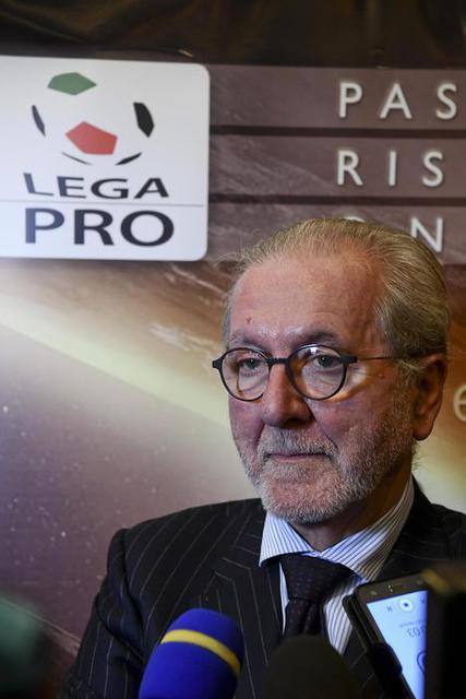 Francesco Ghirelli, presidente della Lega Pro - Foto Ansa