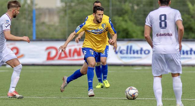 Lorenzo Longo, centrocampista classe 1994 - Foto Audace Cerignola pagina Facebook