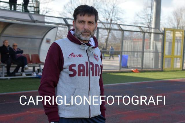 Carmelo Condemi, allenatore della Sarnese