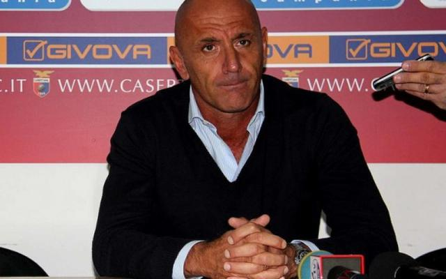 Enzo Maiuri, allenatore dimissionario del Portici