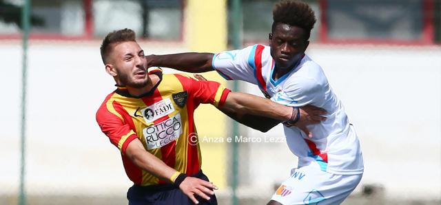 Under 17: Lecce 2- Catania 1