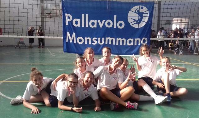 Pallavolo Monsummano: l'Under 12 chiude il campionato territoriale con un ottimo 3° posto finale