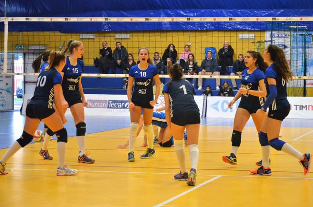 Serie B1 – Il Volleyrò rimane a mani vuote