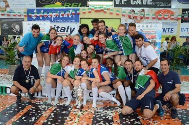 Il Volleyrò Casal de' Pazzi è campione d'Italia